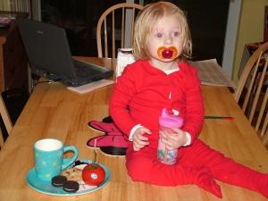 Maddie's Cookies for Santa