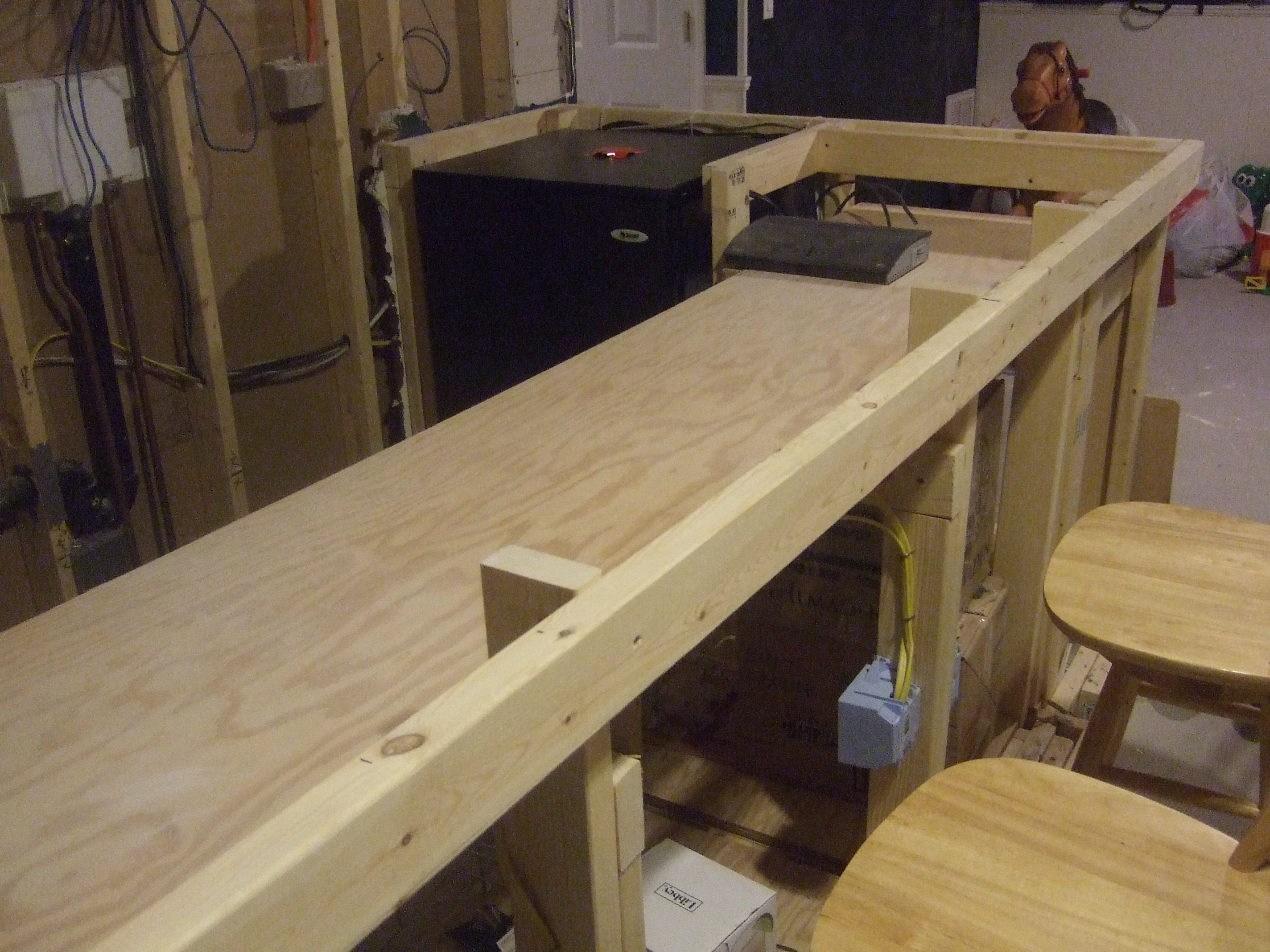 How to build a bar top for How to build a bar top