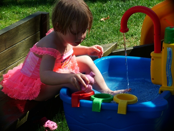 Maddies new water table