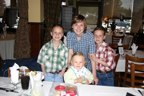 Tyler, Keith, Mason and Zach.