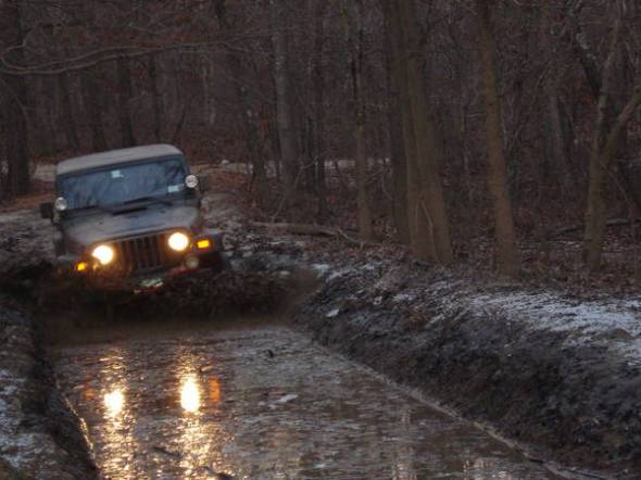 Jeep Mud Canal