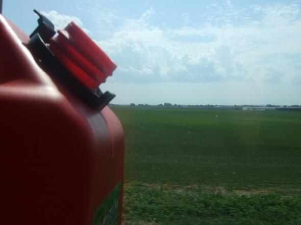 GasCan in a field.