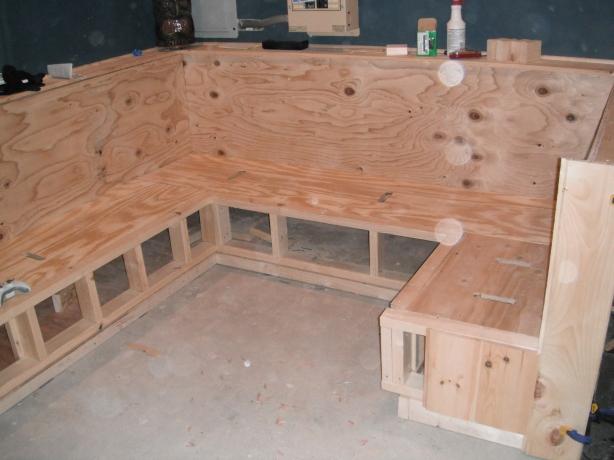 built bench plans