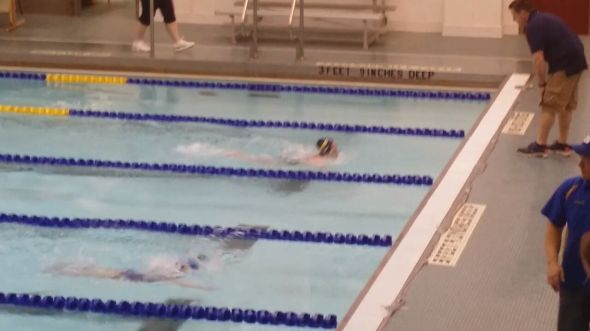 Taking the lead in the breaststroke